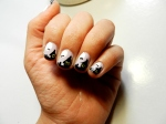 "NOTD - Halloween Nail Tutorial ""Haunted House"""