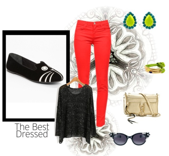 POLYVORE OUTFIT Cat's home