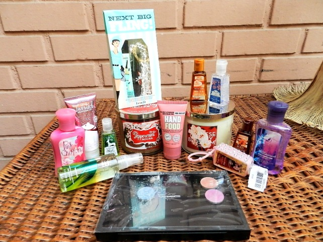 HAUL BATH AND BODY WORKS, BENEFIT, MAC etc