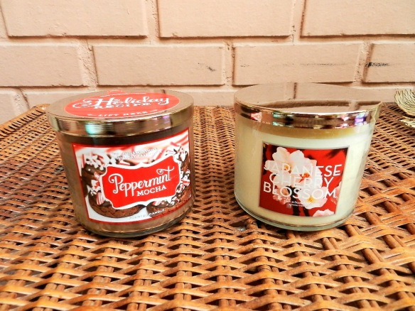 BATH AND BODY WORKS 3 WICKS CANDLES