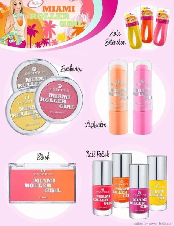 Essence miami roller girl collection