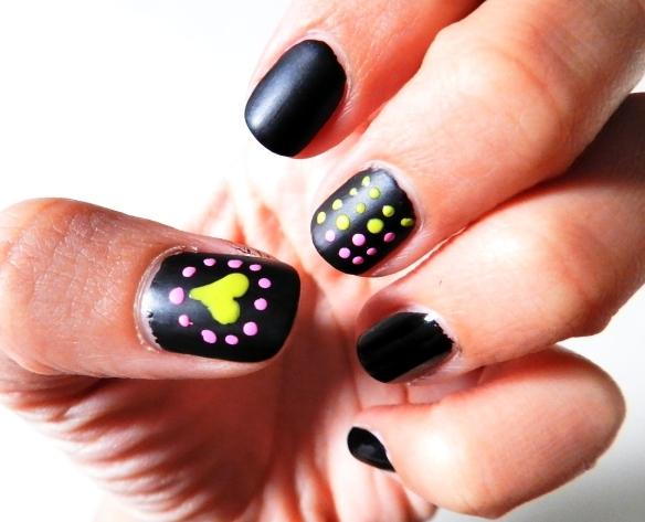 Matte Black and Neon