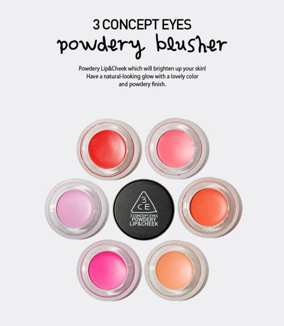 3CE Powdery Blusher