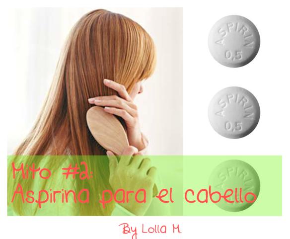 aspirina para el cabello