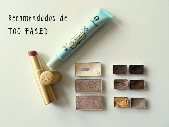 too faced recomendados