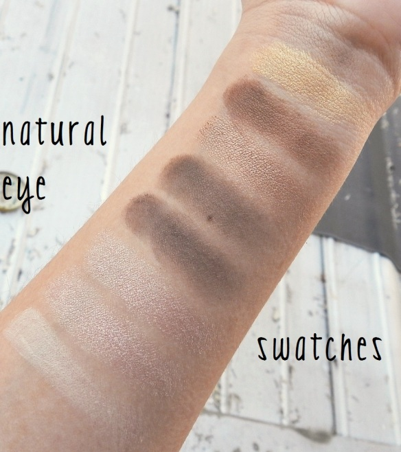 natural eye swatches