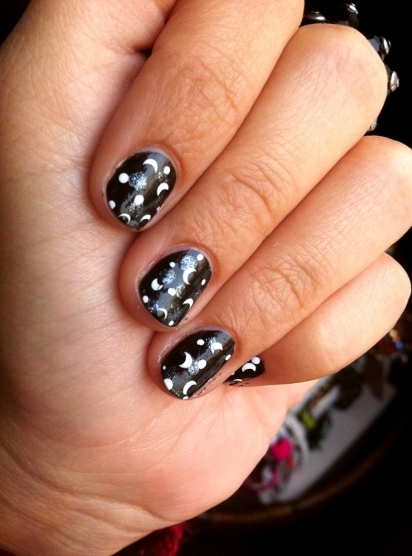 half moon night nails