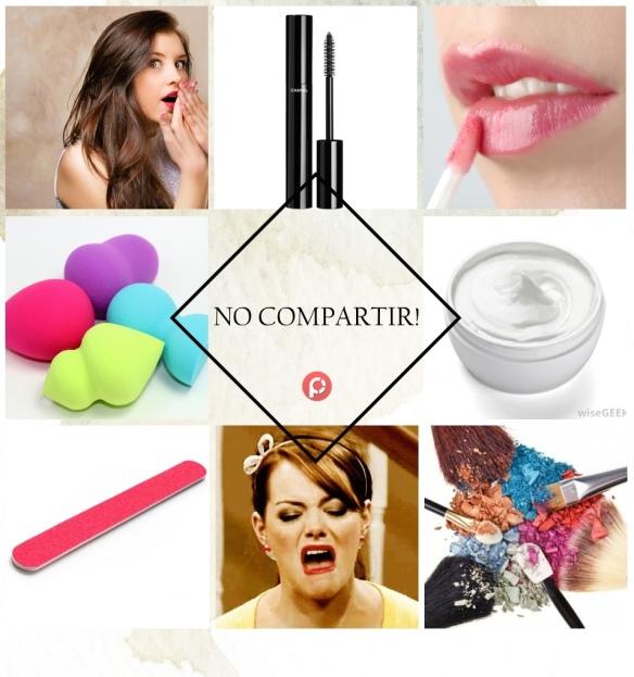 cinco productos de belleza que no deberías compartir
